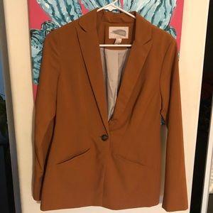 Forever 21 burnt orange blazer jacket nwot